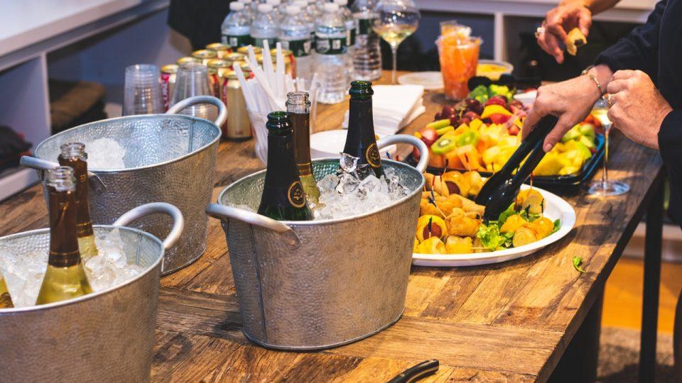 cenas, comidas y catering