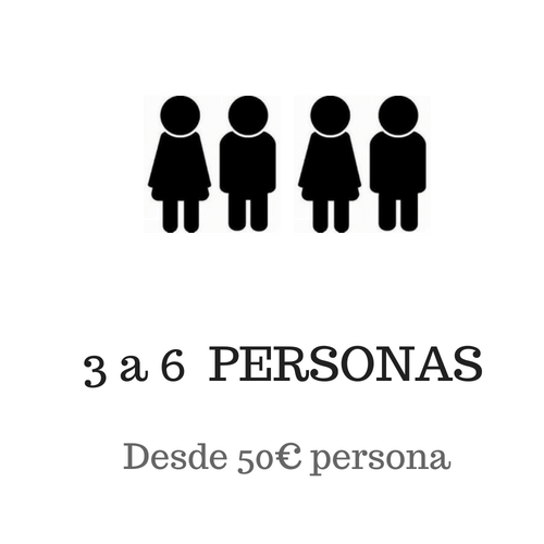 3-6 personas