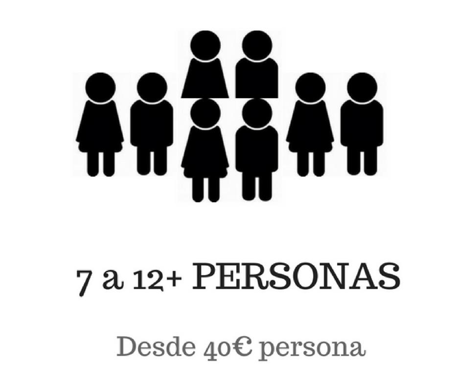 7-12 personas