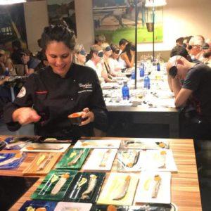 cena a ciegas para grupos