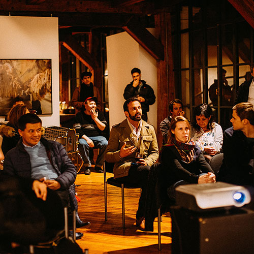 talleres de conferencias creativas